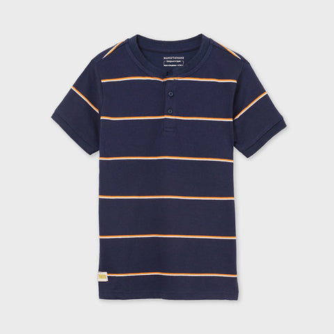 Boy's striped short sleeve t-shirt - Mayoral