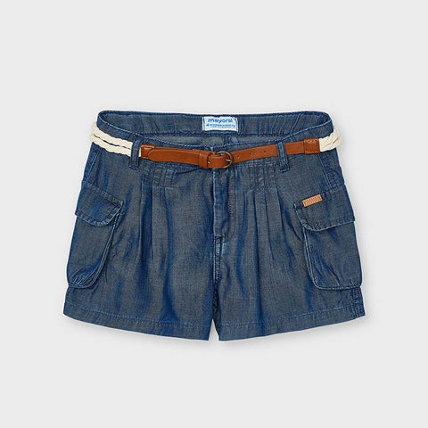 Ecofriends Girls Cargo Shorts