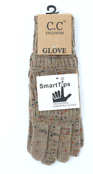 Speckled Latte GLoves