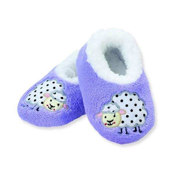 SNOOZIES SHEEP INDOOR SLIPPERS / INFANT / TODDLER / LITTLE KIDS