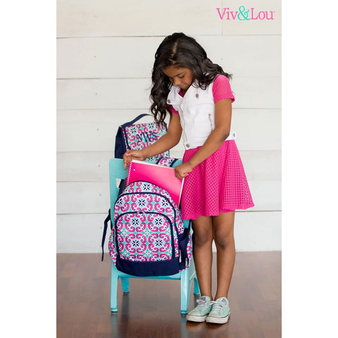 Mia Tile Backpack and Accessories