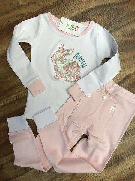 Soft and Sweet Easter Pajamas