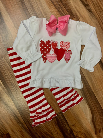 Valentine Hearts Outfit