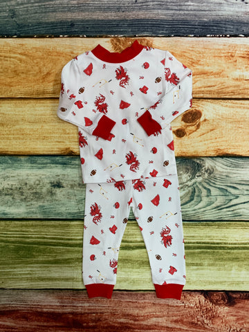 Gamecocks 2pc Pajamas