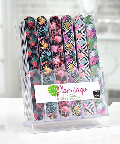 Flamingo Emery Board Nail File