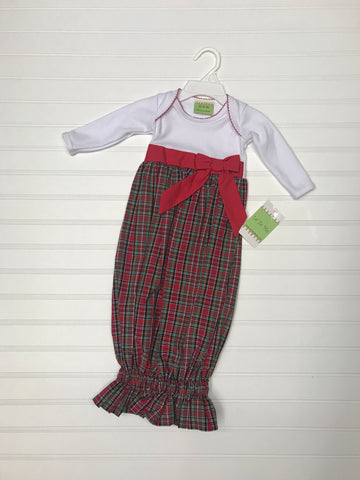 LeZaMe Christmas Plaid Sleep Sack