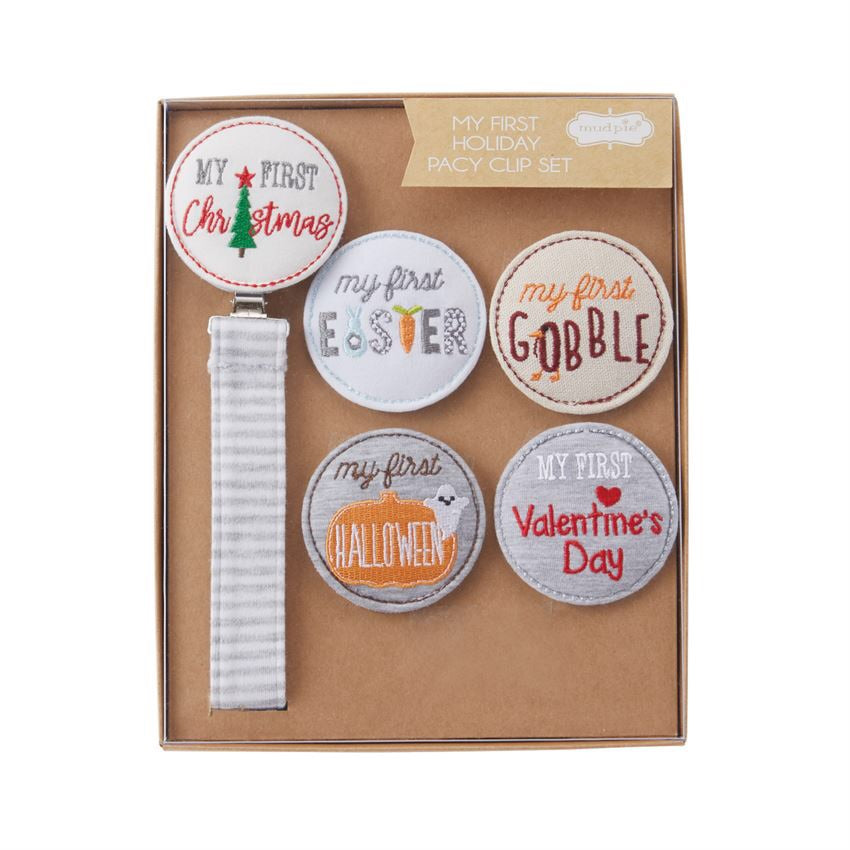 "MUDPIE ""MY FIRST"" HOLIDAY PACY GIFT SET"