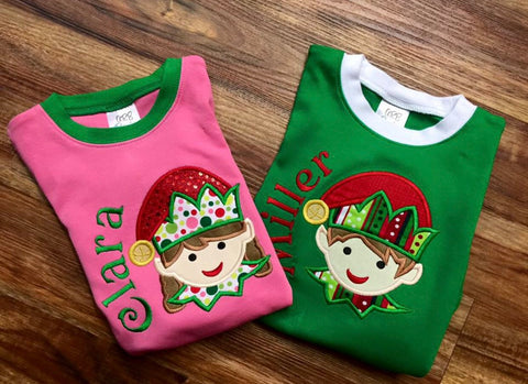 Elf Pajamas for boys and girls