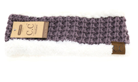 SHERPA CABLE KNIT CC HEAD WRAP