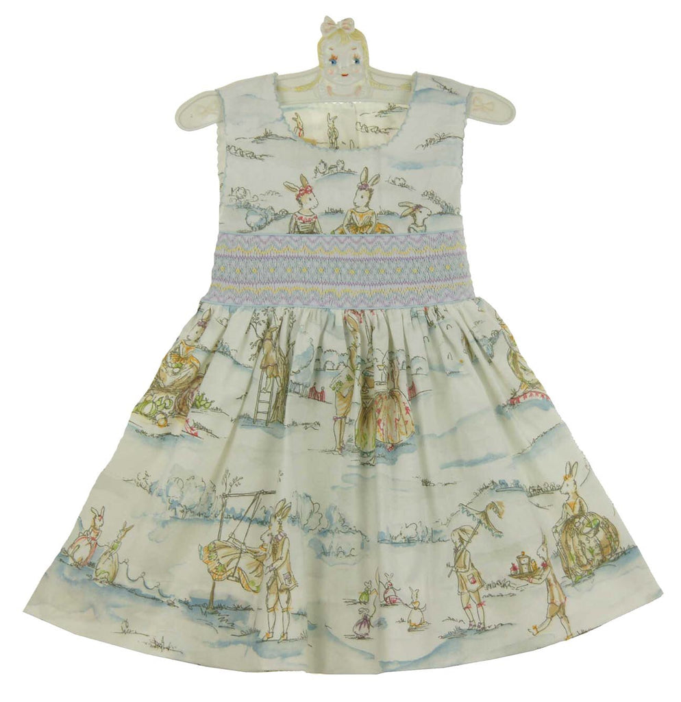 LeZaMe Bunny Toille Dress