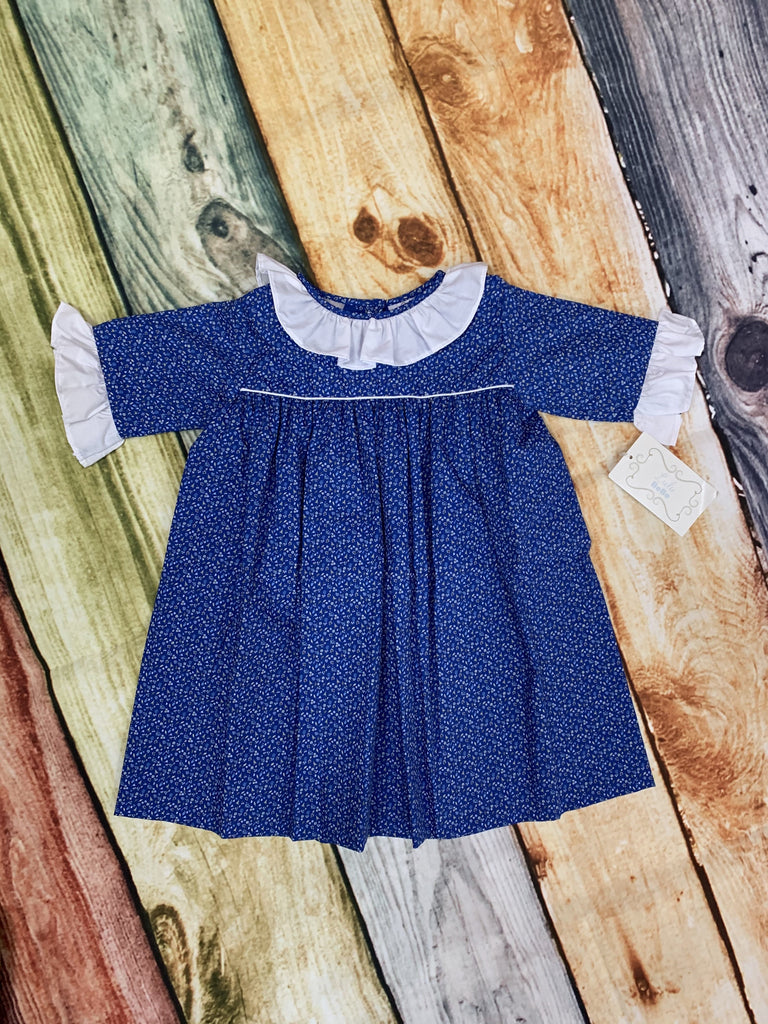 Annette Royal Blue Dress