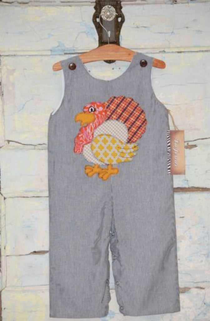 Gobble Gobble Turkey Coverall by Lajenns