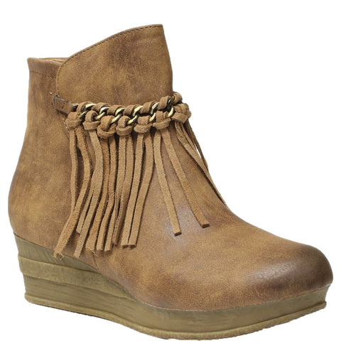 Haley Tan Boot by Volatile Kids