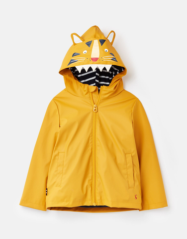 YELLOW TIGER RAIN JACKET