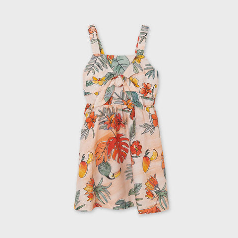 TROPICAL KNOT DRESS