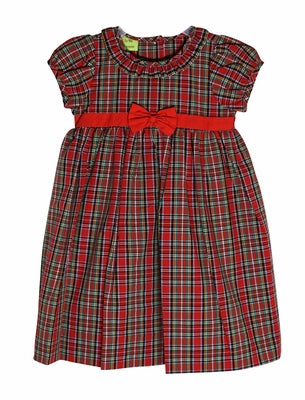 Christmas Plaid Libby Dress