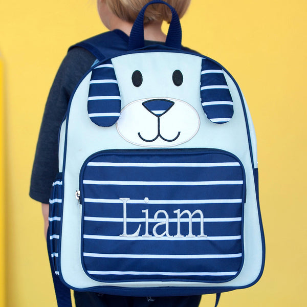 Blue Puppy Preschool Backpack