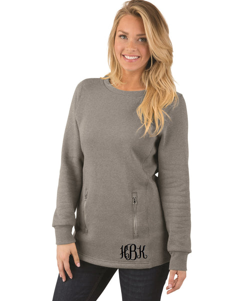 Monogrammed Women's North Hampton Sweater - Charles River Apparel