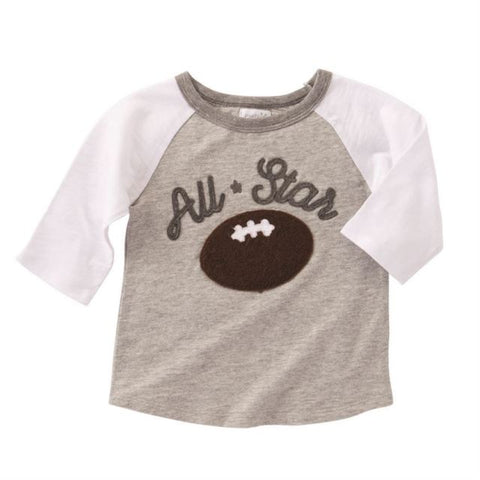 ALL STAR FOOTBALL SHIRT BY MUD PIE