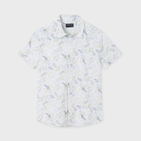 PALMS BUTTON DOWN SHIRT