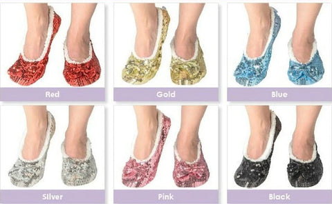 Kid's Classic Bling Snoozies!® Slippers - Gold