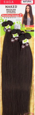 ShakeNGo Naked Brazilian bundle Straight 7pcs