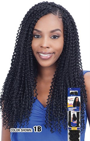 Synthetic Braid ShakeNGo FreetressBraid Kinky Bohemian Braid