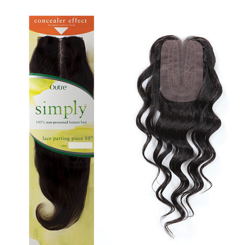 Closure Outre Simply Lace Closure Natural Wave
