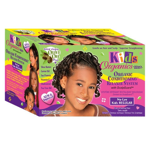 African Best KID Relaxer KIT-COARSE 1 AP