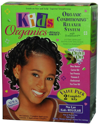 AF/BEST KID N/L RELAXER KIT-COARSE VALUE PACK