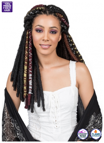 Synthetic Crochet Braid BOBBI BOSS BAE LOC GOLD STRING