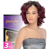 Curly Blend Weave Outre Purple Pack Jade Swirl 3pcs