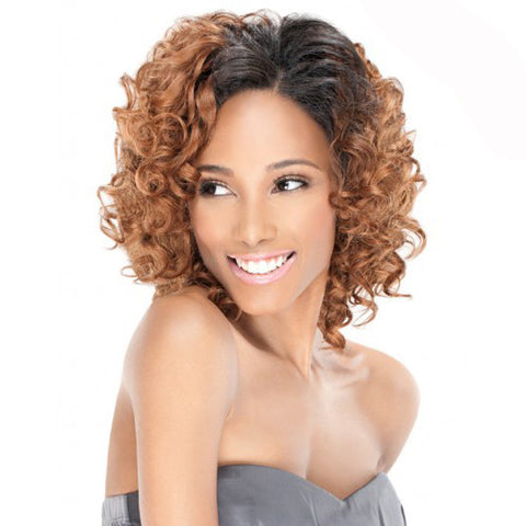 Curly Blend Weave Outre Purple Pack Disco Curl 3pcs