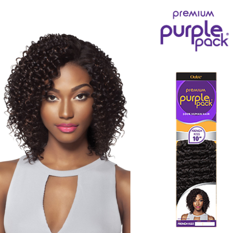 Curly Human Weave Outre PremiumPurplePack FrenchKiss