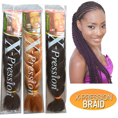 Synthetic Braid Outre XPRESSION Braid 82""