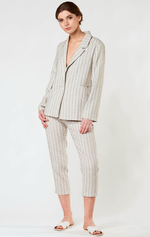 BOYFRIEND STRIPED BLAZER