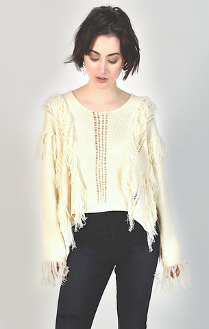 89401 Black Lace Knit Cardigan