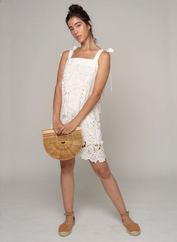 88501 Eisley Ruffle Front Lace Dress