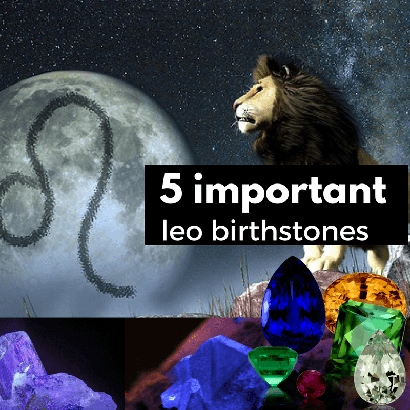 5 Most Important Leo Birthstones