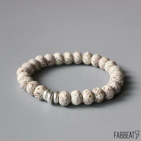 Simple Meditation Bodhi Seeds Bracelet