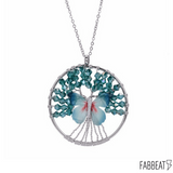 Tree of Life Butterlfy Necklace