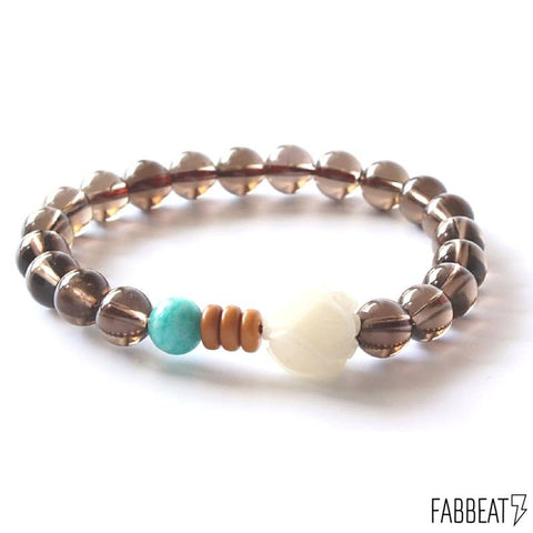 Natural Stones and Bodhi Seed Handcrafted Bracelet