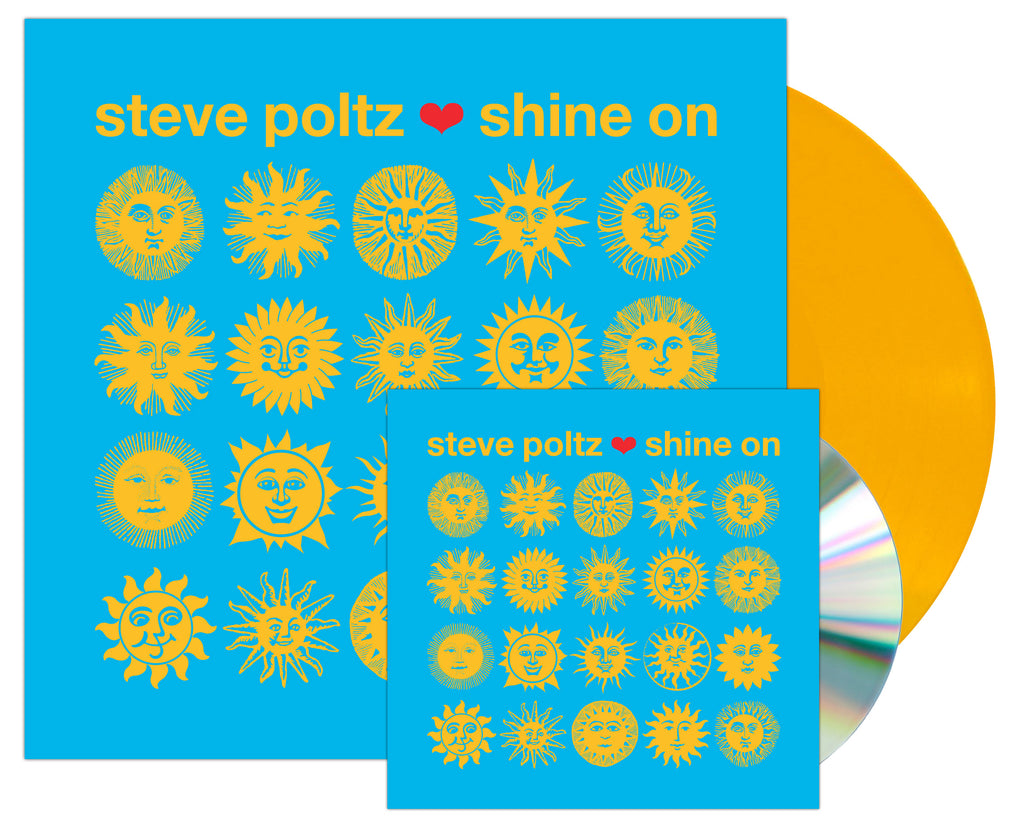 "Steve Poltz ""Shine On"" CD + LP Bundle"