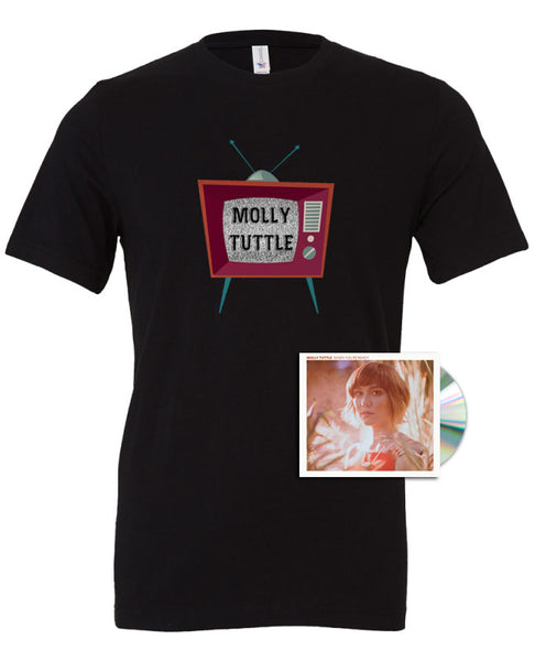 "Molly Tuttle ""When You're Ready"" T-Shirt + CD Bundle"