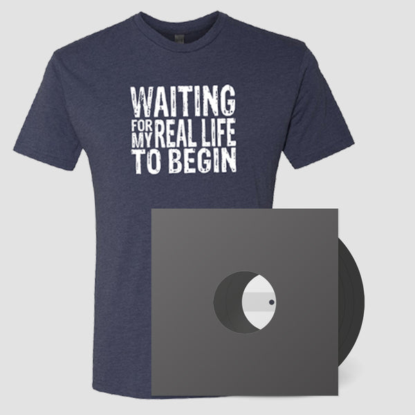 Going Somewhere Signed Vinyl Test + Waiting For My Real Life T-Shirt Pre-Order Bundle