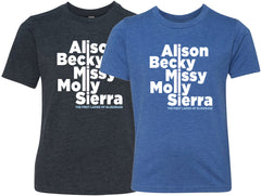 First Ladies of Bluegrass T-Shirt - Youth