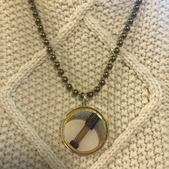 Banjo Pendant Necklace