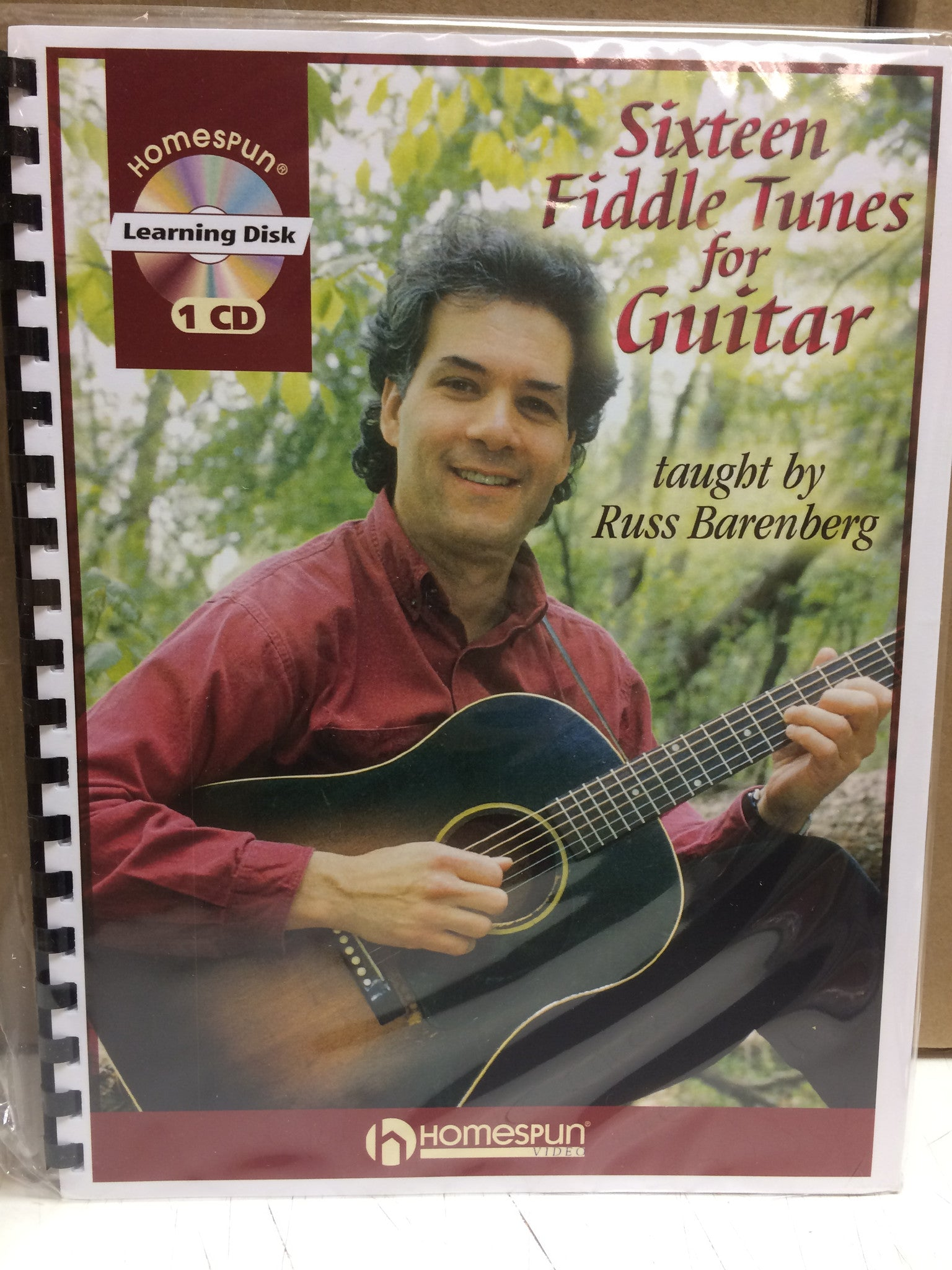 16 Fiddle Tunes for Guitar - Russ Barenberg from Compass Records