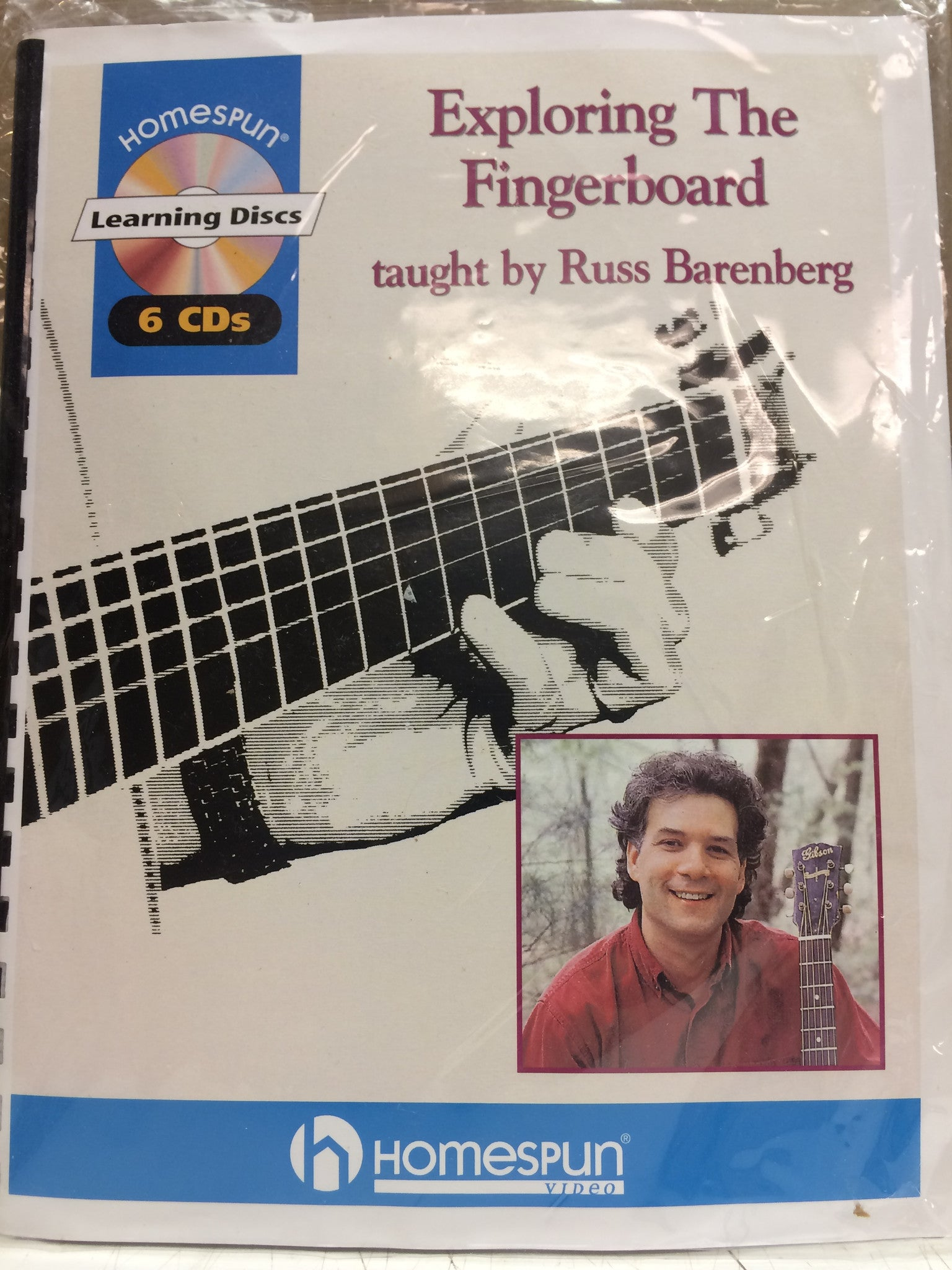 Exploring the Fingerboard - Russ Barenberg from Compass Records