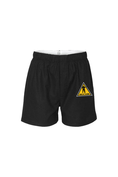 Men At Work - Caution Boxers [Unisex]